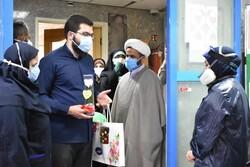جهادیهای استان تهران از کادر درمان تقدیر کردند