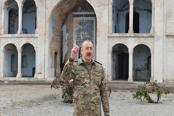 İlham Aliyev'den Ağdam kentine ilk ziyaret