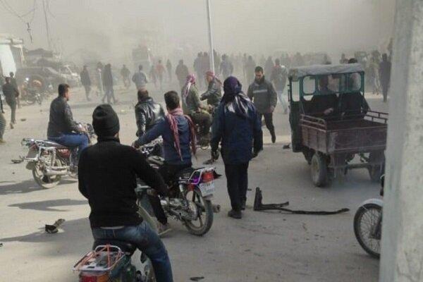Car bomb explodes in al-Baba district , NE Aleppo