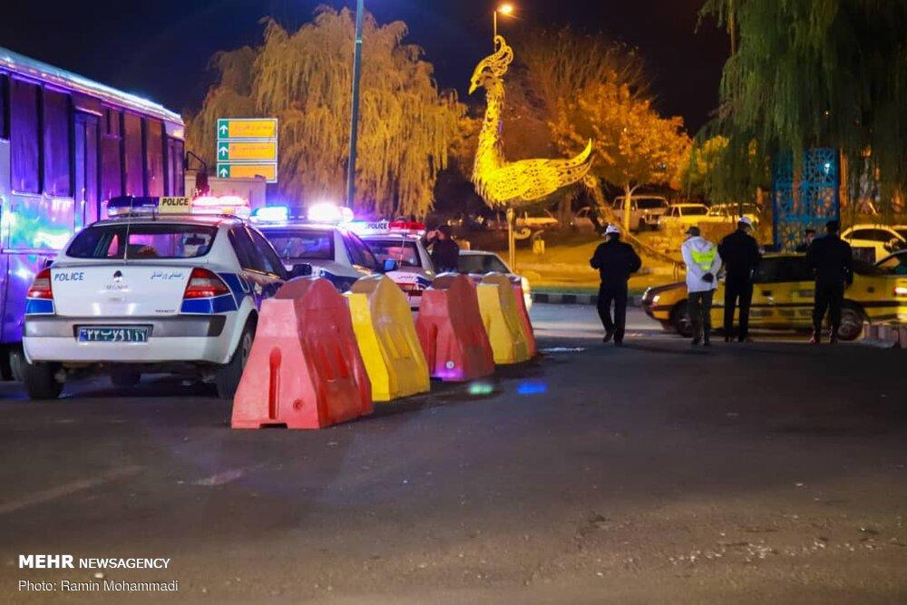 محدودیتهای تردد شبانه در زنجان پا بر جا است