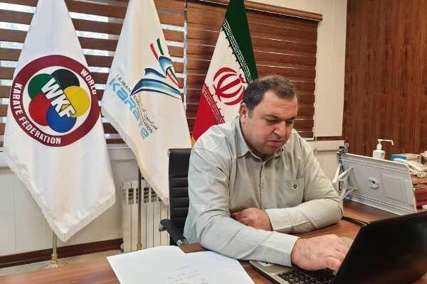 طباطبایی از فعالیت های کاراته ایران گزارش داد