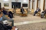 خطیب زادہ کی افغانستان کے حکام سے ملاقات اور گفتگو