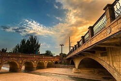 VIDEO: Qari Bridge a historical stone bridge in Tabriz