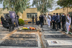Funeral ceremony of voice actor Changiz Jalilvand