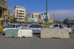 اعمال محدودیت تردد به شهرستان دره شهر