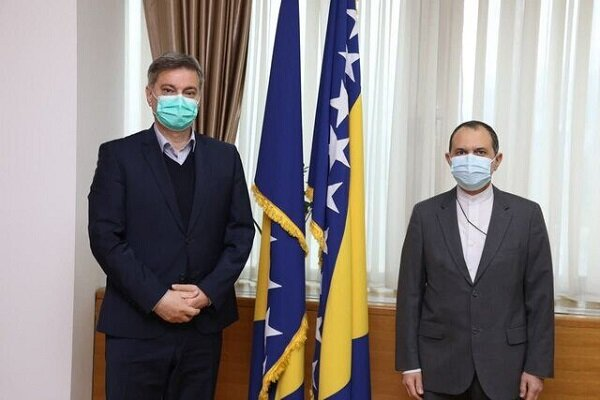 Iran to back any step for strengthening Bosnia's development