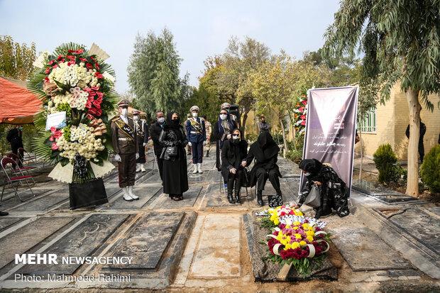 خاکسپاری مرحوم چنگیز جلیلوند