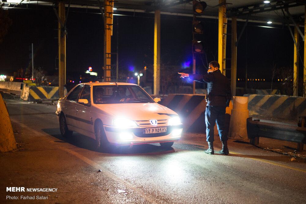انجام بیشترین دور دورهای شبانه در سه بلوار پایتخت