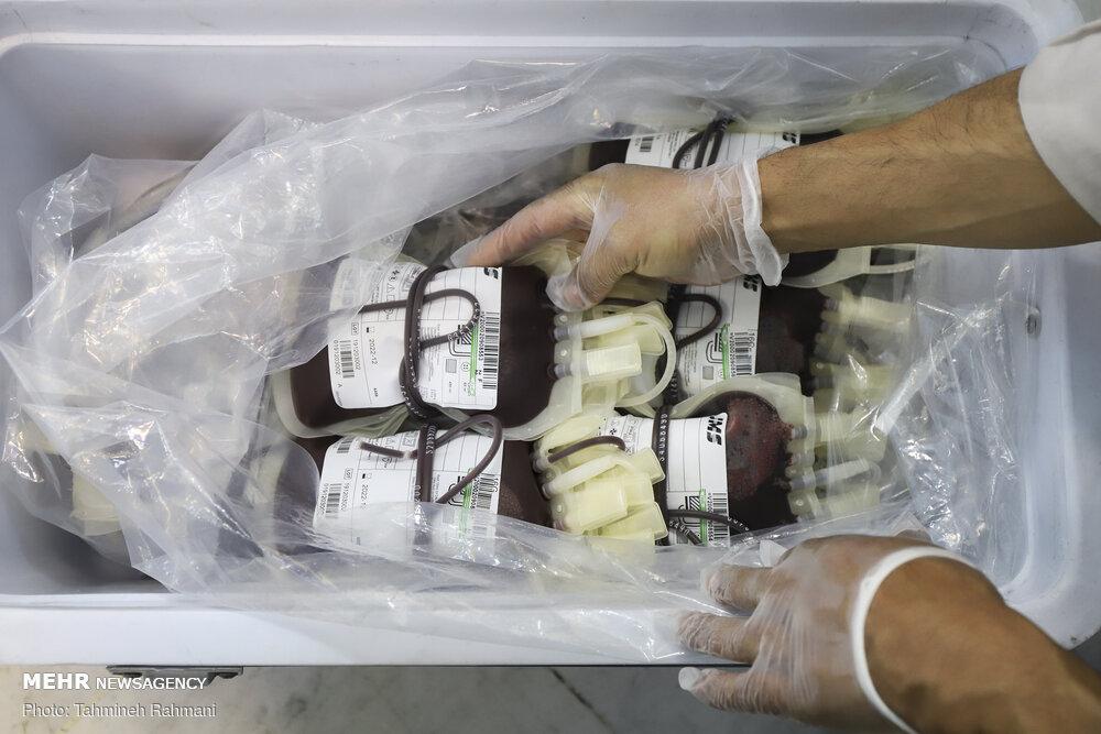 اهدای خون ۶۲۸۱ نفر از ماموران یگان ویژه