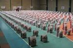 توزیع ۱۰۰۰ بسته معیشتی توسط ناحیه امام سجاد (ع)/ بسیجی در اوج نیازمندی یاریرسان مردم است