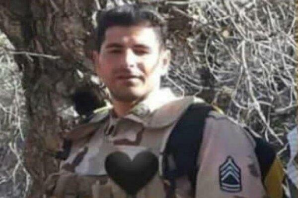 مرزبان مجاهد ناجا در مرز مریوان به شهادت رسید