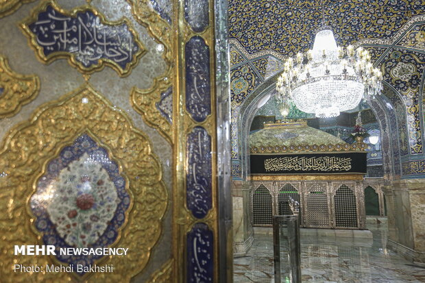 Candle-light ceremony of servants in Hazrat Masoumeh Shrine