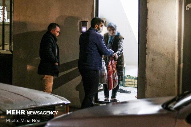 رزمایش کمک مؤمنانه و توزیع بسته های معیشتی در تبریز