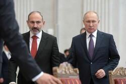 پوتین با علی اف و پاشینیان دیدار می کند