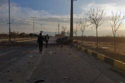 İranlı nükleer fizikçiye yönelik terör saldırısından fotoğraflar