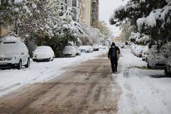 بارش برف و باران در اصفهان تا دوشنبه/هوا ۱۰ درجه سردتر میشود