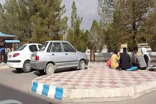 تفریحات کرونایی کرمانی ها در سایه نبود دستگاه های نظارتی