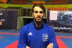 با تیمی قدرتمند راهی توکیو میشویم / سرباز کاراته ایران هستم