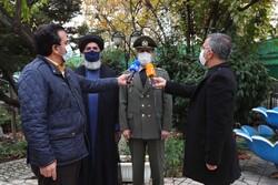 ایرانی وزیر دفاع کا شہید فخری زادہ کے گھر حضور