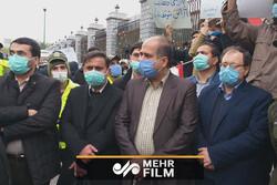 حضور نمایندگان مجلس در تجمع دانشجویان انقلابی