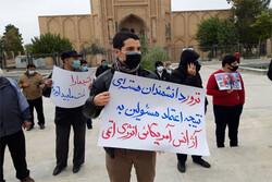 مردم ورامین شهادت شهید «فخری زاده» را محکوم کردند