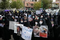 تجمع اعتراضآمیز بیرجندیها در پی ترور شهید فخری زاده