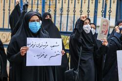 تجمع اعتراض آمیز مردم ورامین در محکومیت ترور شهید «فخریزاده»