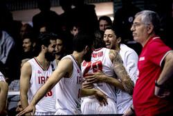 تیم ملی بسکتبال ایران مقابل عربستان پیروز شد
