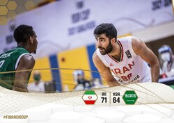 Iran beat Saudi Arabia at FIBA Asia Cup qualifier