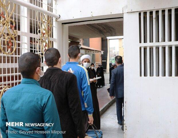 ۱۵ هزار زندانی در راستای اجرای طرح پایش آزاد شدند
