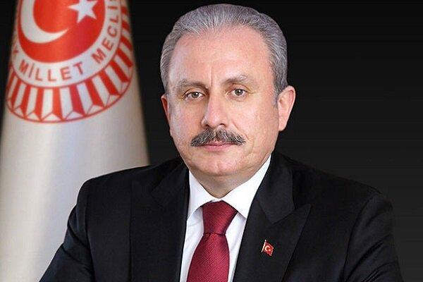 TBMM Başkanı Şentop Tahran'da
