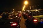 ترافیک سنگین در محور چالوس - کرج