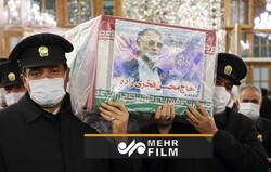 VIDEO: Funeral procession of martyr Mohsen Fakhrizadeh
