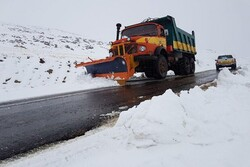 استقرار ۳۴ اکیپ راهداری در جاده های استان ایلام