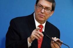 Cuba FM blames US for recent unrest, protests