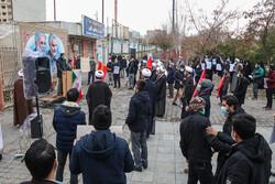 تبریز میں شہید محسن فخری زادہ کے قتل کے خلاف مظاہرہ