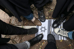 تجمع مردم تبریز در اعتراض به ترور شهید محسن فخری زاده