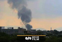 حمله هوایی ائتلاف متجاوز سعودی به صعده یمن