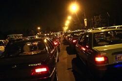 ترافیک در محور چالوس سنگین است