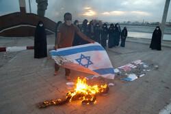 تجمع دانش آموزان بندرعباس در محکومیت ترور شهید فخری زاده