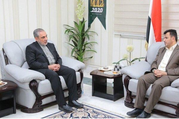 وزير الصحة يبحث مع السفير الإيراني جوانب التعاون الصحي