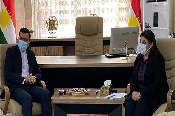 Iran keen on boosting agricultural coop with Iraqi Kurdistan