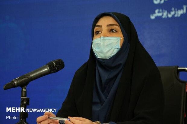 تسجیل 223 حالة وفاة جدیدة بفیروس کورونا في ایران