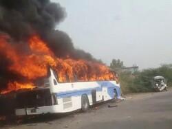 پاکستان میں ٹریفک حادثے میں 12 افراد ہلاک، 15 زخمی