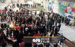 İran, bilimci şehit Fahrizade'yi uğurladı