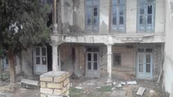 خطر تخریب پشت دیوارهای تاریخی/مرمت مشارکتی بنای خدیوی