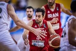 سه دیدار تدارکاتی تیم ملی بسکتبال پیش از انتخابی کاپ آسیا