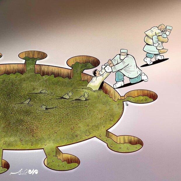 """دور كبير للطواقم الصحية في مواجهة """"كورونا"""" رغم المخاطر"""