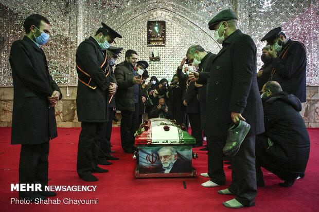 Şehit Fahrizade'nin cenaze töreninden fotoğraflar