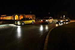 وضعیت منع تردد شبانه در اصفهان